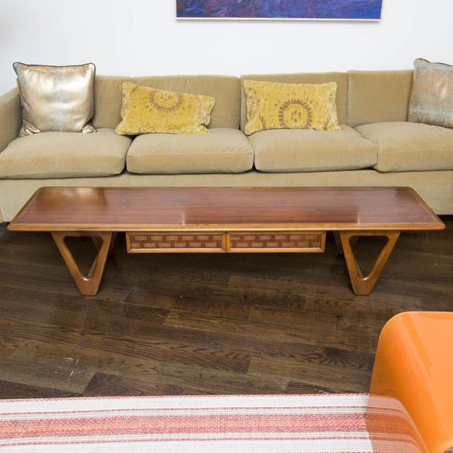 Lane Perception Coffee Table in Walnut - Image 11 of 11