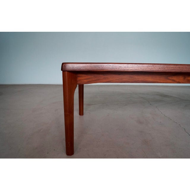 Mid-Century Danish Modern Rosewood Coffee Table For Sale - Image 10 of 12