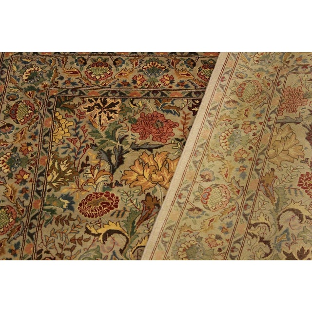 Pak-Persian Jeni Lt. Gray/Gold Wool Rug - 4'1 X 6'2 For Sale In New York - Image 6 of 8