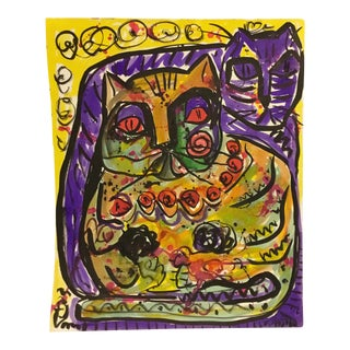 Vitae Fradogo Cat #26 Art Miami 1993 For Sale