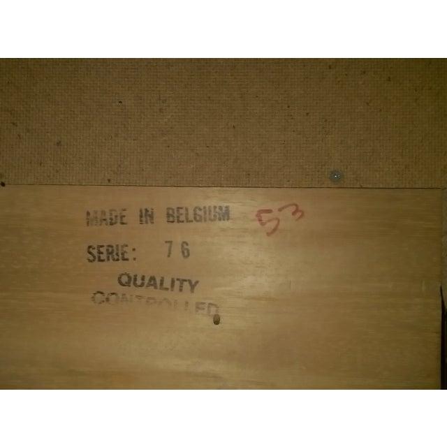 Mid-Century Modern 6-Drawer Rosewood Dresser From Belgium - Image 10 of 10