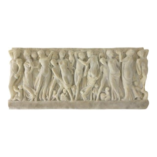 Italian Grape Gatherers Plaque