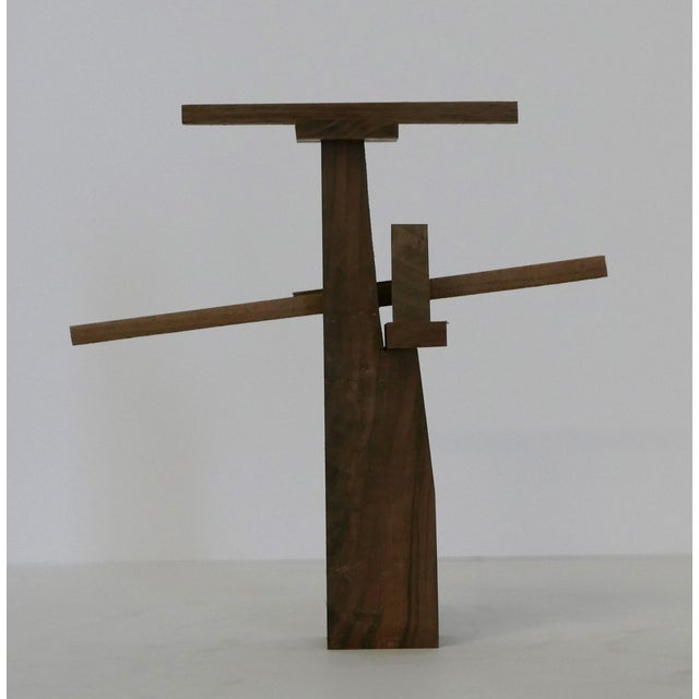 2010s Behzad Haghiri's Raw Walnut Sculpture For Sale - Image 5 of 6