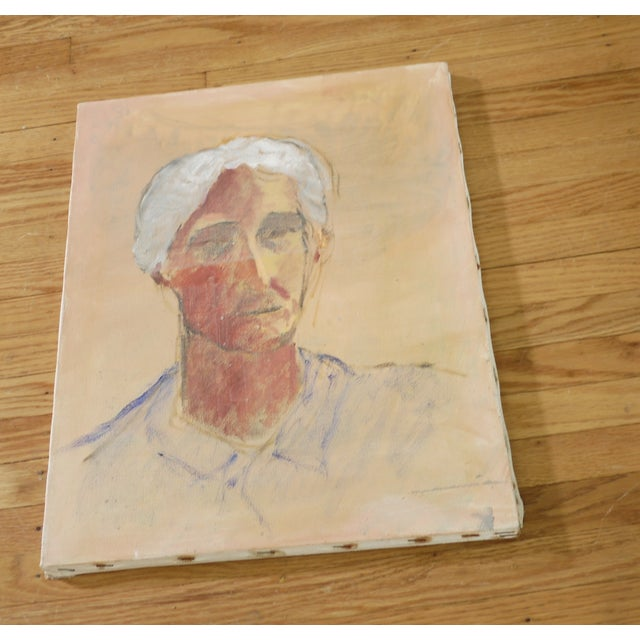 Ghosted Grandma Oil Portrait - Image 2 of 4