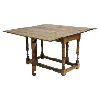 Spanish Colonial Folding Gateleg Table