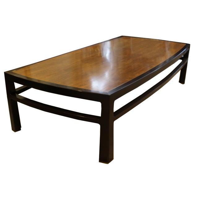 Mid-Century Modern Wormley for Dunbar Rare Mahogany Rectangular Coffee Table For Sale - Image 13 of 13