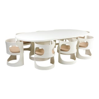 Arne Jacobsen Pre Pop Dining Set for Asko - 1969 For Sale
