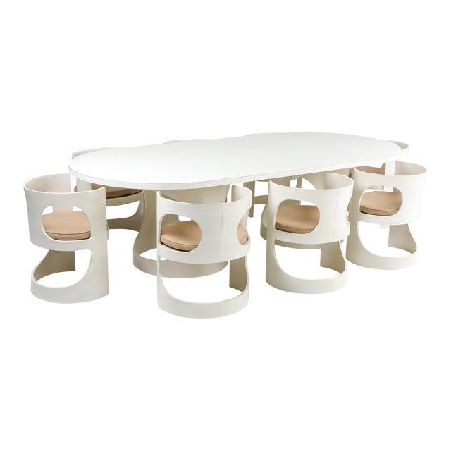 Arne Jacobsen Pre Pop Dining Set for Asko - 1969 For Sale