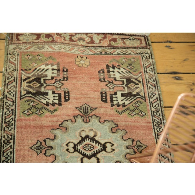 "Vintage Turkish Oushak Mat - 1'9"" x 2'10"" - Image 5 of 7"