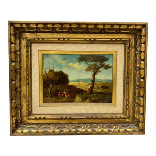 17th Century Flemish School Oil Painting on Copper Panel For Sale