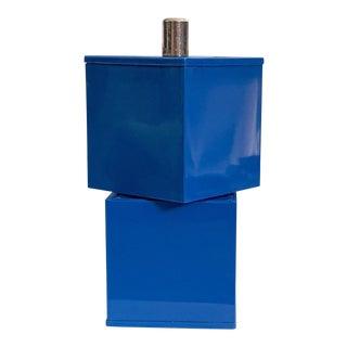 Gunnar Cyren for Dansk Blue Melamine Salt & Pepper Combo For Sale