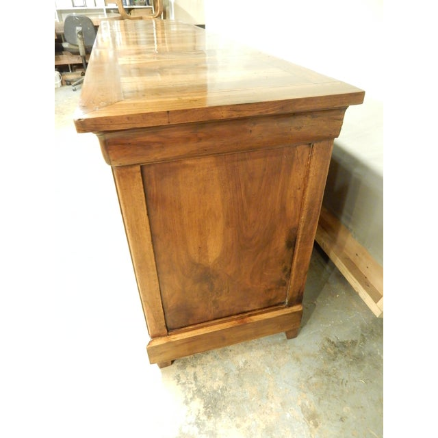 French French Walnut 19th Century Enfilade For Sale - Image 3 of 12