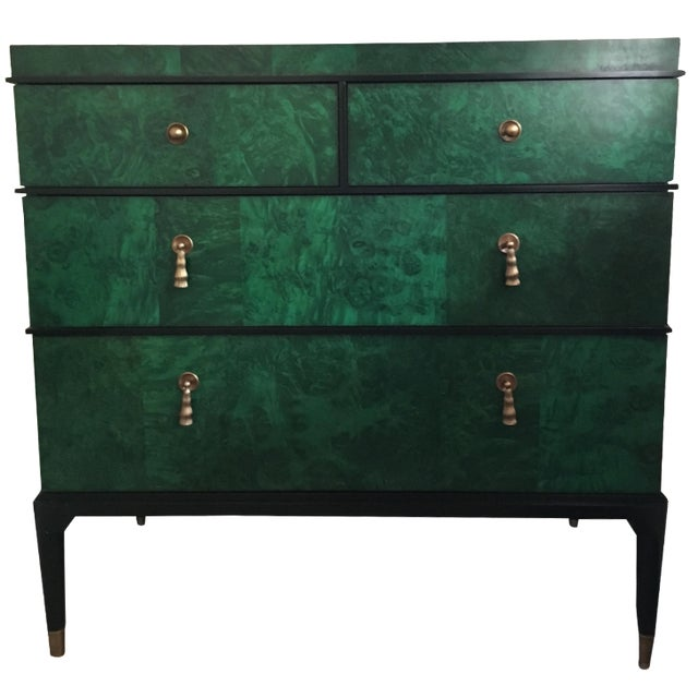 Century Furniture Malachite Consul Chest - Image 1 of 8