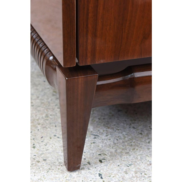 Georg Kofoed Danish Modern Rosewood and Silver Inlaid Sideboard, 1950s For Sale - Image 9 of 9