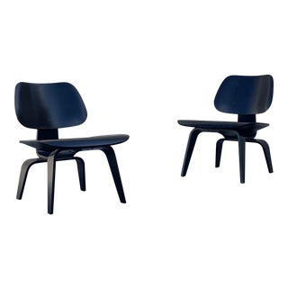 Eames Lcw for Herman Miller Chairs - a Pair For Sale
