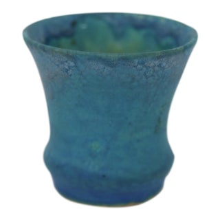 Mid-Century Drip-Glazed Pot, Signed For Sale