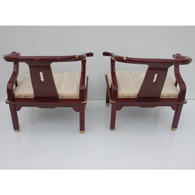 James Mont Chairs by Century a Pair. - Image 6 of 8