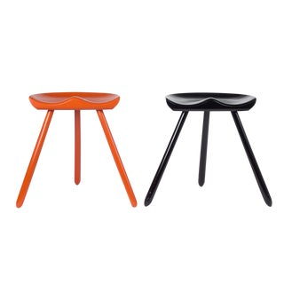 Three Legged Milking Stools after Mogens Lassen For Sale