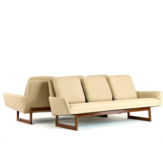 Jens Risom, Pair of Sofas, Circa 1960's For Sale - Image 10 of 10