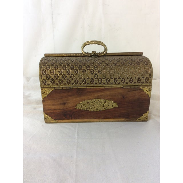 Handmade Indian Bridal Box For Sale - Image 9 of 9