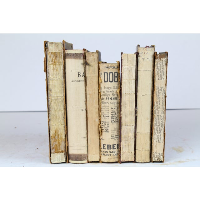 Deconstructed Antique Books - Set of 6 - Image 3 of 4