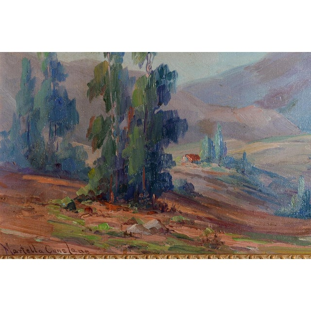 Martella Cone Lane -California Landscape -Oil Painting -Impressionist C.1920s For Sale In Los Angeles - Image 6 of 9