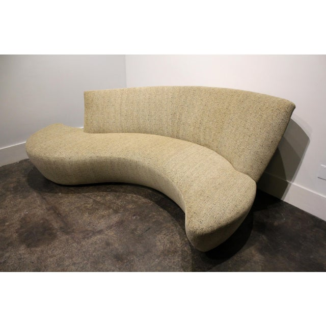 Mid-Century Modern Large Sculptural Bilbao Sofa by Vladimir Kagan For Sale - Image 3 of 12