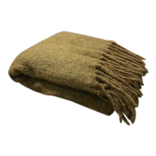 18Karat International Wool Mohair Throw For Sale