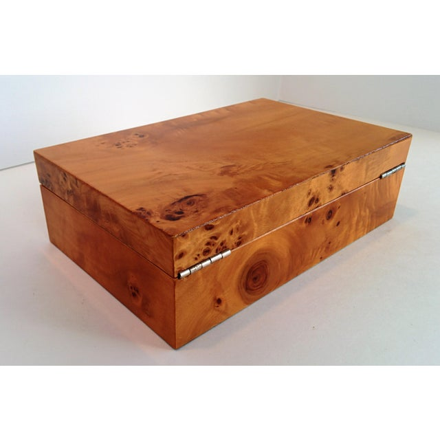 Burl Wood Box - Image 9 of 10