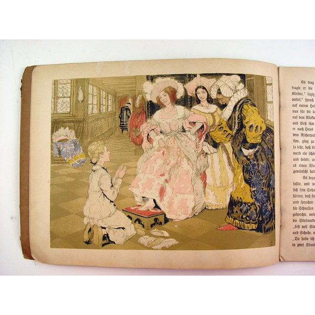 Cinderella Illustrated by Adolf Munzer - Image 5 of 6
