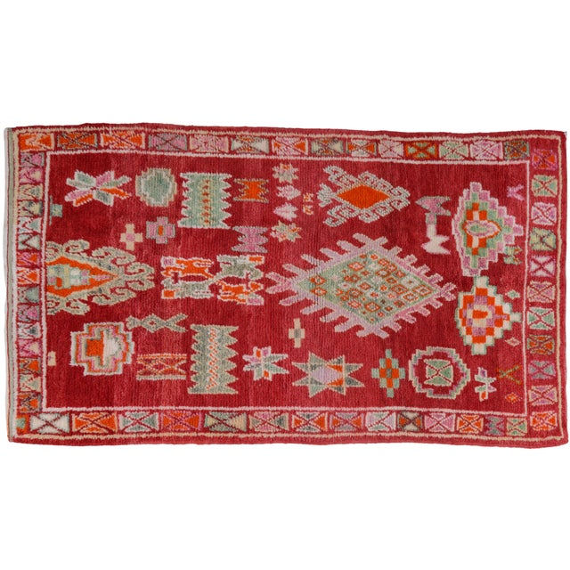 Textile Vintage Moroccan Azilal Rug - 8'4'' x 4'10'' For Sale - Image 7 of 7