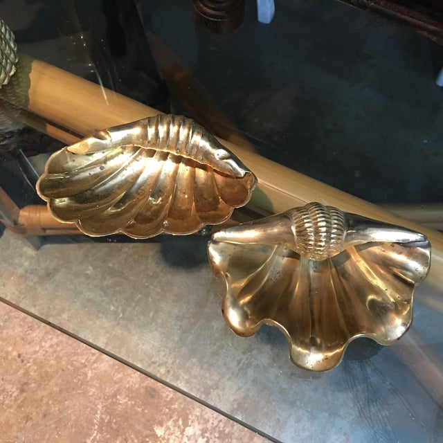 Brass Shells Catchall - a Pair For Sale In Miami - Image 6 of 6