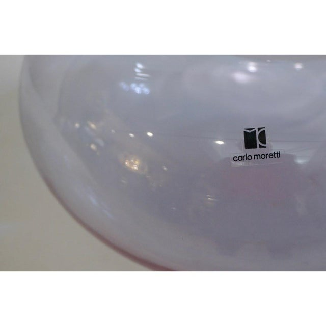 Purple Vintage 1980s Carlo Moretti Alexandrite Purple Blue Murano Crystal Glass Box For Sale - Image 8 of 9