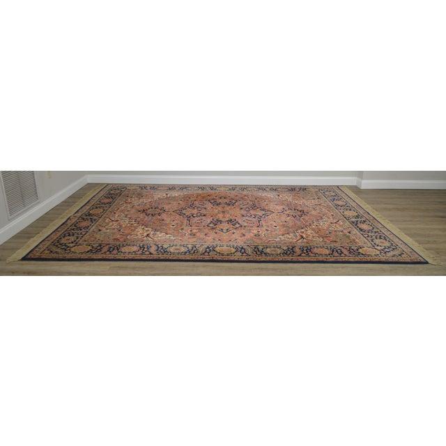 Traditional Karastan Heriz Serapi 9 X 12 Room Size Rug # 726 For Sale - Image 3 of 13