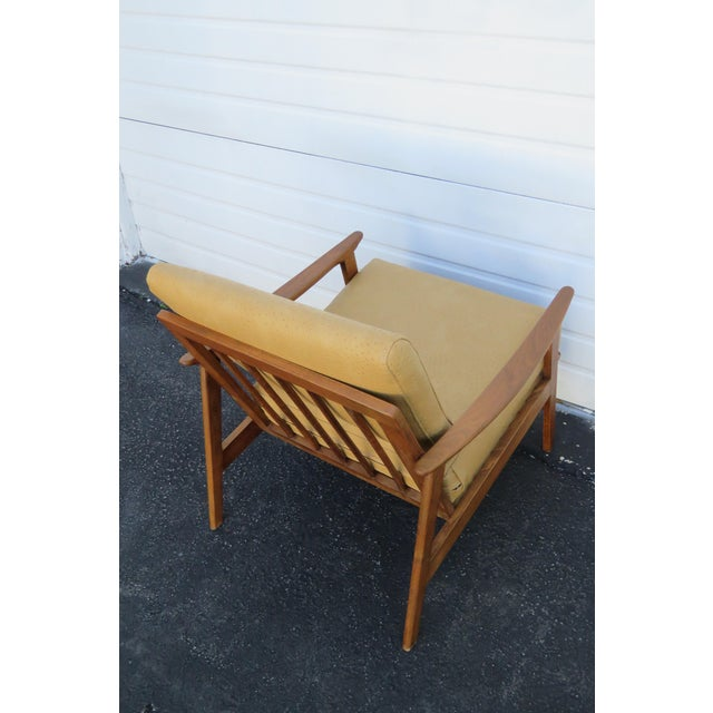 Mid Century Modern Living Bed Room Sling Side Chair 1209 For Sale - Image 11 of 13
