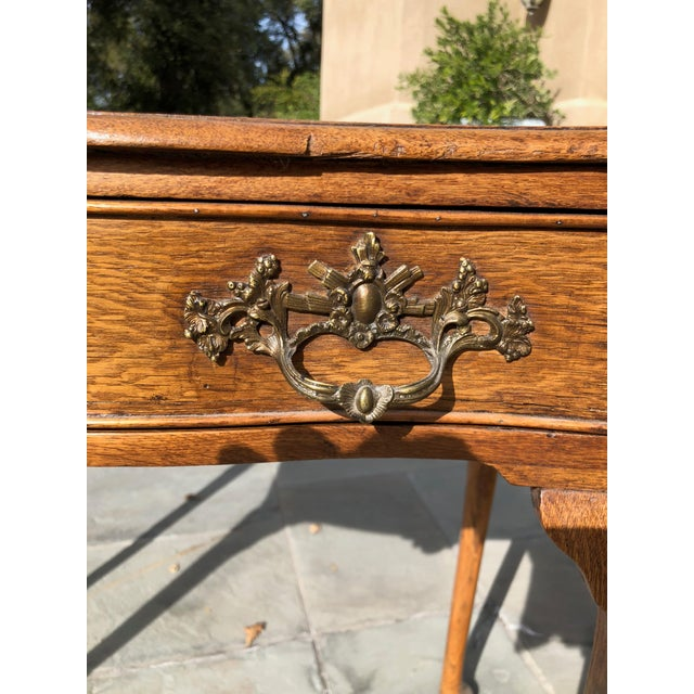 English Traditional Antique English Side Table For Sale - Image 3 of 7