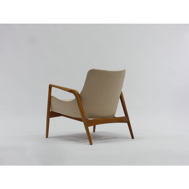 Mid-Century Modern Pair of Lounge Chairs by Ib Kofod Larsen For Sale - Image 3 of 11