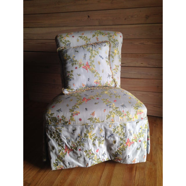 Vintage Slipper Chair - Image 3 of 10