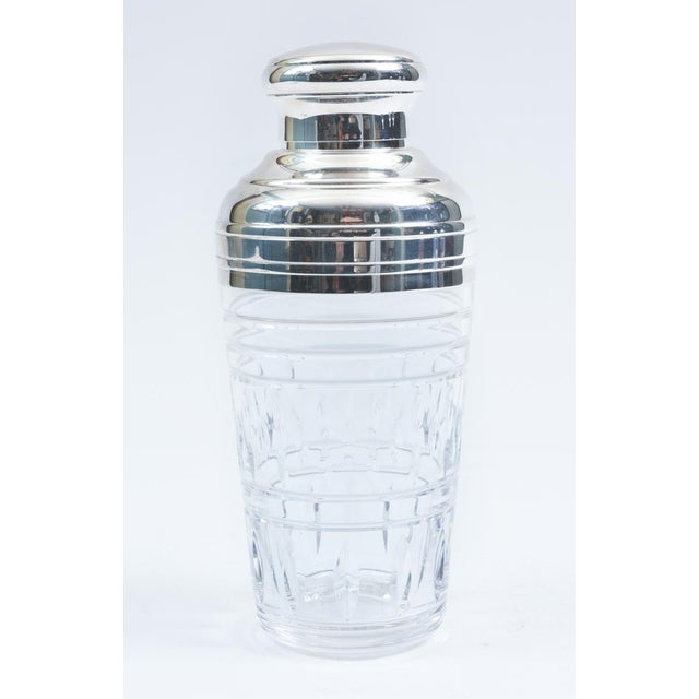 Mid-20th Century Saint Louis Crystal Martini / Cocktail Shaker For Sale - Image 9 of 10