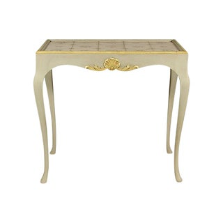 Early 20th-C. Swedish Tea Table