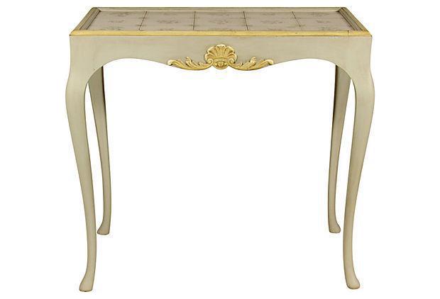 Elegant Early 20th C. Swedish Tea Table