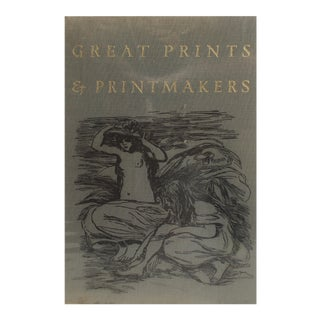 "1967 ""Great Prints & Printmakers"" Coffee Table Book For Sale"