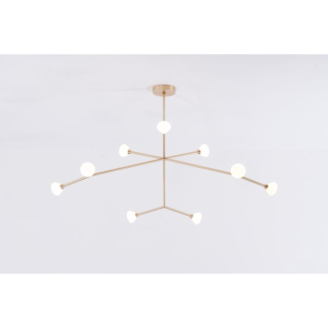 Super Nova Chandelier by McKenzie & Keim For Sale In Chicago - Image 6 of 13