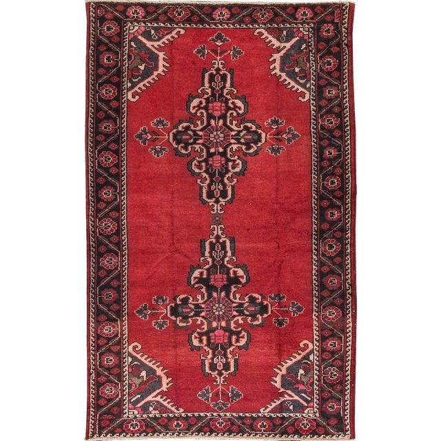 """Apadana - Vintage Persian Rug, 4'4"""" X 6'7"""" - Image 1 of 7"""