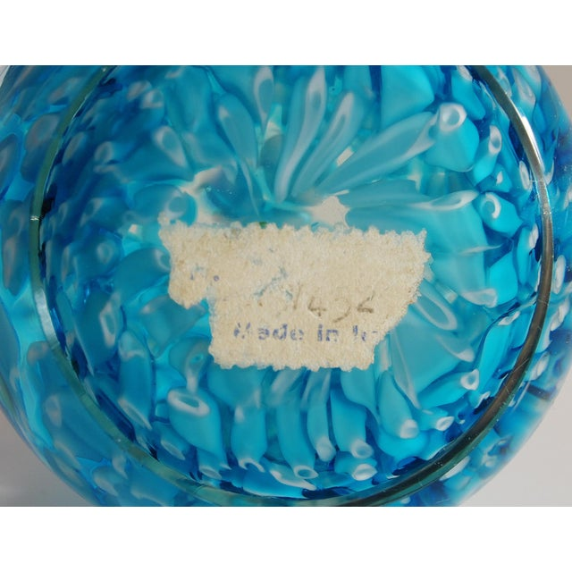 1960s Collection of 3 Italian Murano Glass Paperweights For Sale - Image 5 of 6