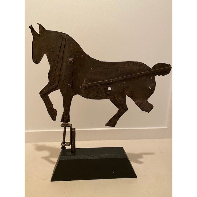 American Early 20th Century Antique Horse Weather Vane For Sale - Image 3 of 6