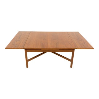 Mid Century Modern Rosewood Expandable Coffee Table For Sale