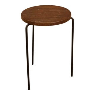 Mid-Century Vintage Luther Conover Style Stool For Sale