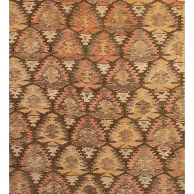 Early 20th Century Qazvin Runner - 3′8″ × 14′ For Sale - Image 4 of 6