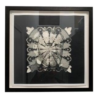 Dollar Art in Black Frame For Sale